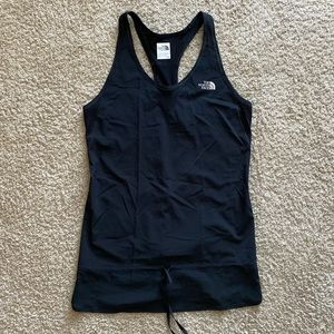 The North Face Black Open Back Tank Top Sz Small